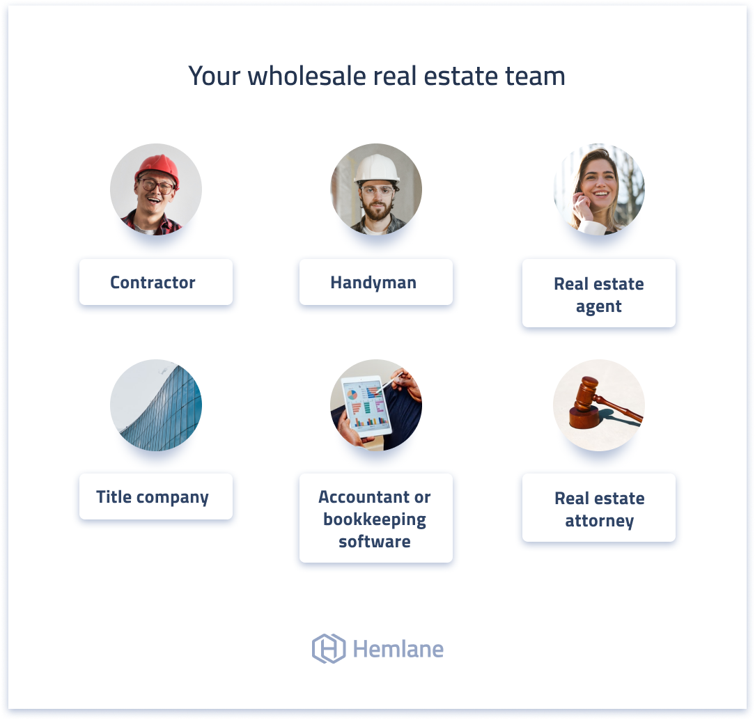 Build your wholesale real estate team