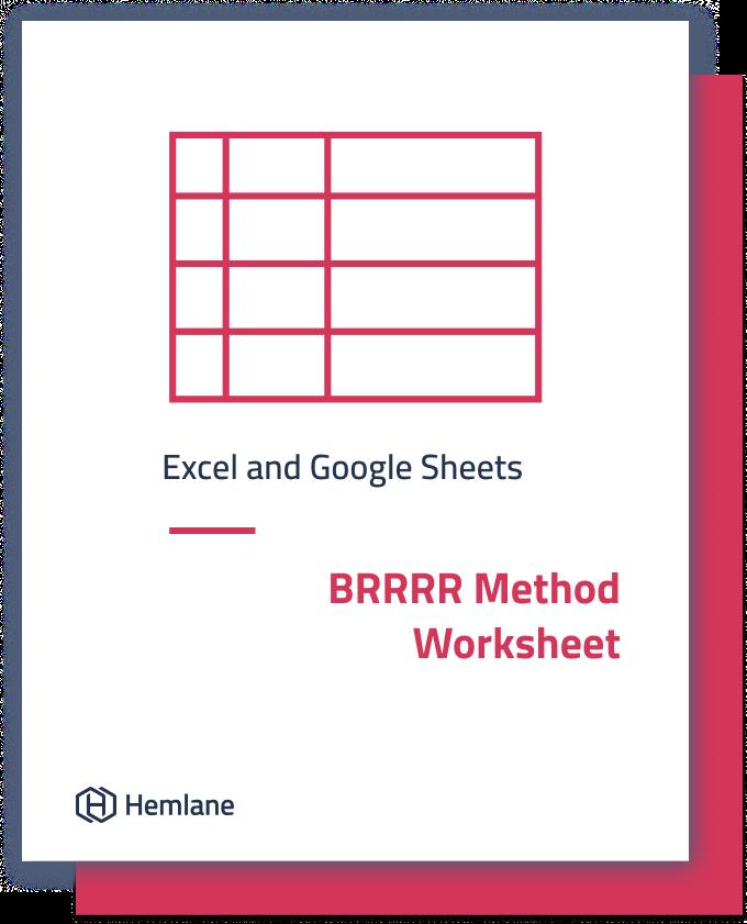 BRRRR Method Worksheet