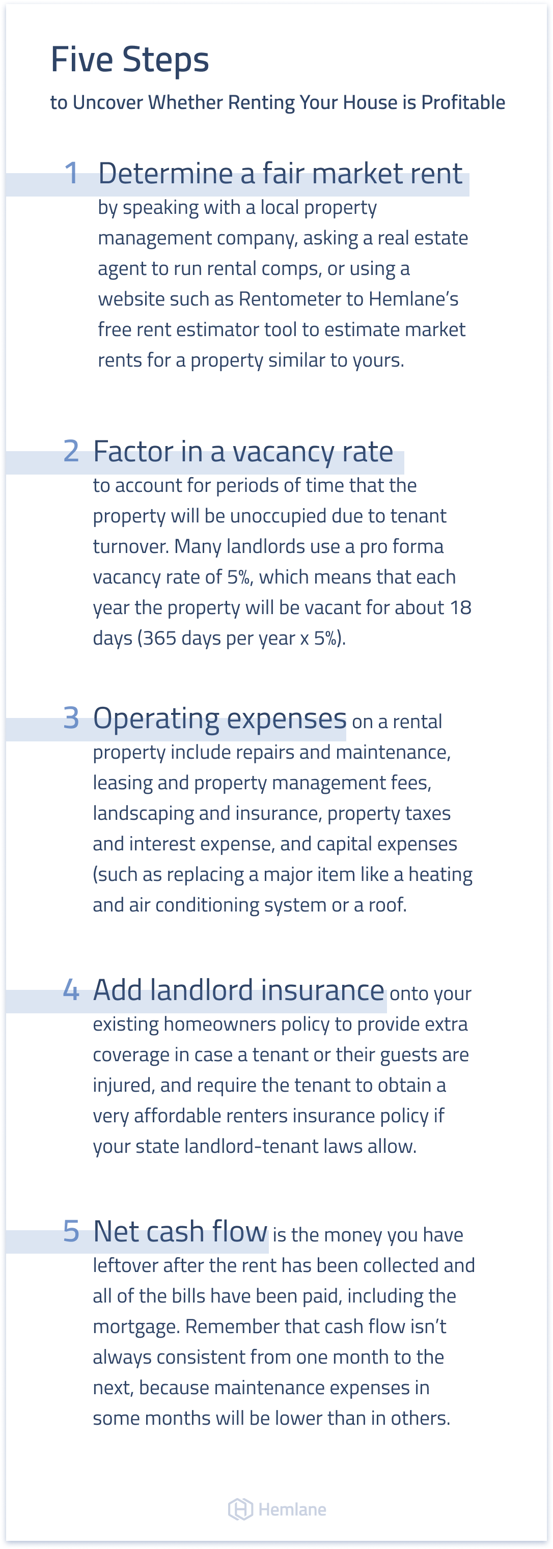 Find out whether renting out your home will be profitable